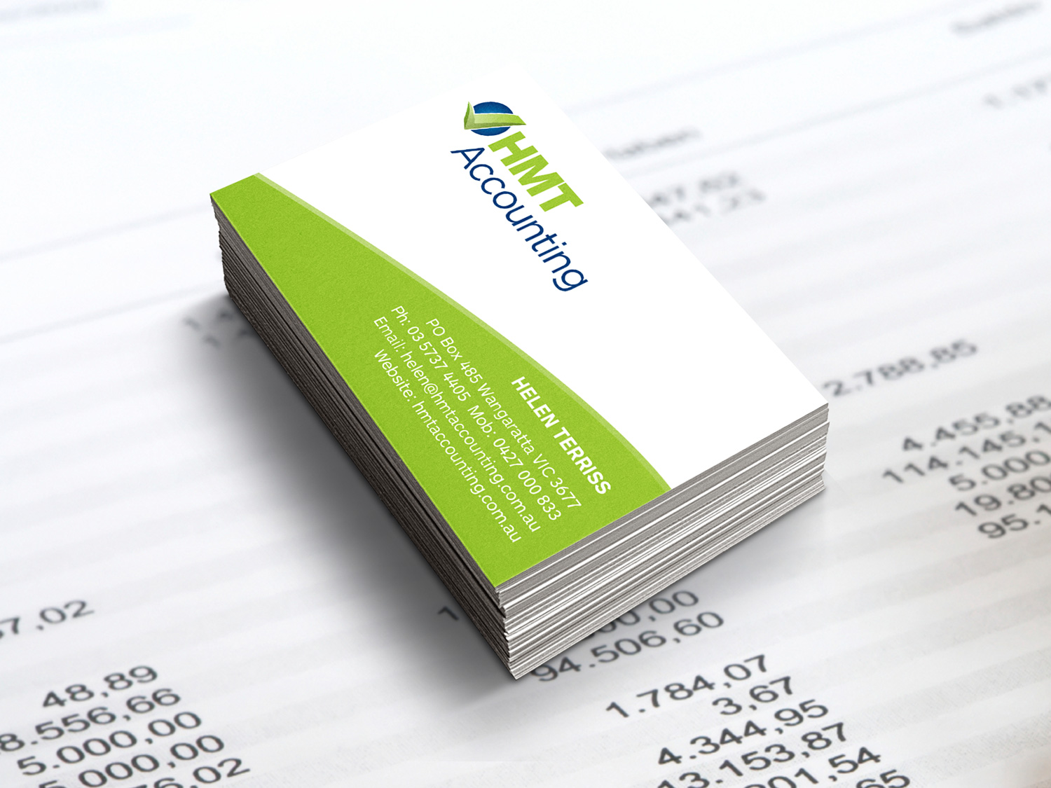 HMT Accounting Business Cards