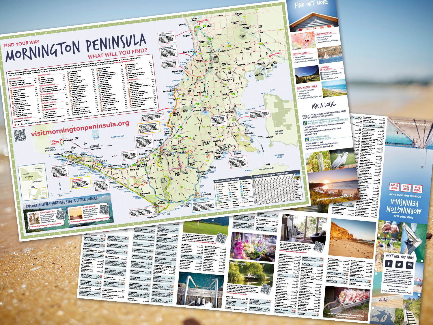 Mornington Peninsula Touring Map 2017