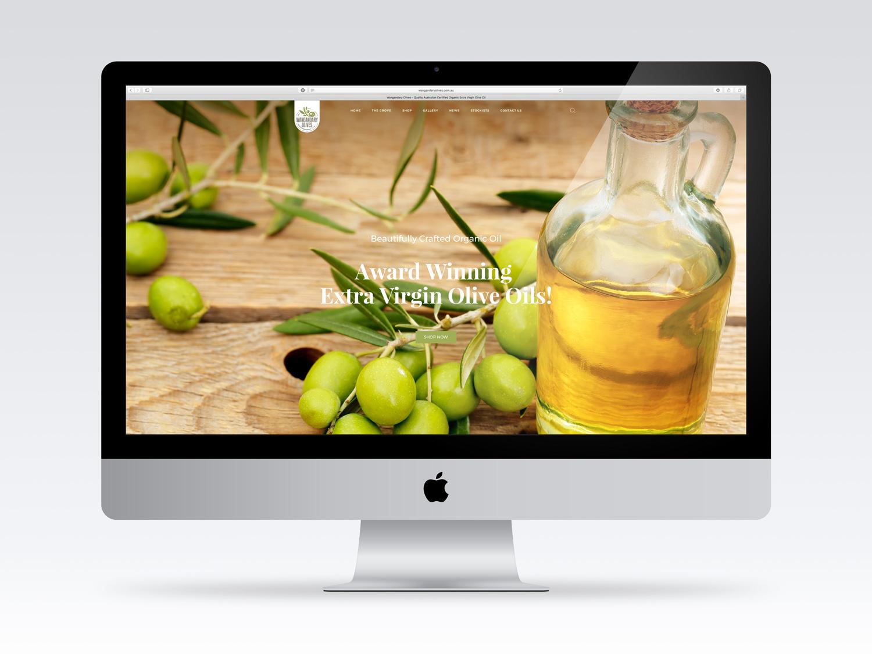Wangandary Olives – Purple Possum Design – Graphic Design Wangaratta