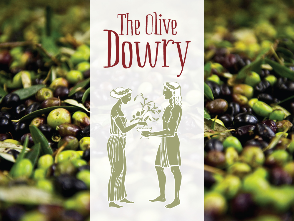 The Olive Dowry Logo – Purple Possum Design – Graphic Design Wangaratta