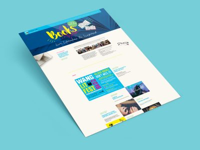 Purple Possum Design – Web Design Wangaratta – WangLit Fest