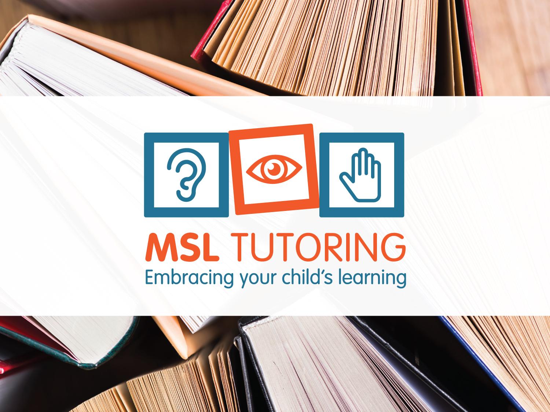 MSL Tutoring Logo – Logo Design Wangaratta – Purple Possum Design