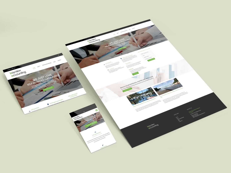 Purple Possum Design – Web Design Wangaratta – Bayview Accounting