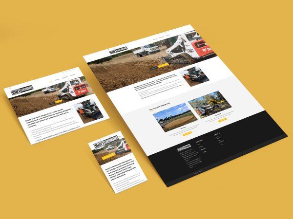 Purple Possum Design – Web Design Wangaratta – Beard's Earthworks