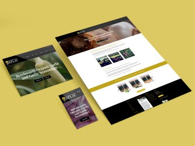 Purple Possum Design – Web Design Wangaratta – Beechworth Garlic