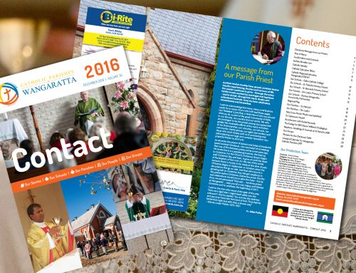 Catholic Parishes Wangaratta Contact Magazine 2016