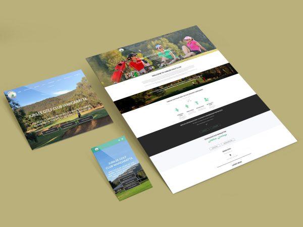 Purple Possum Design – Web Design Wangaratta – Jubilee Golf Wangaratta