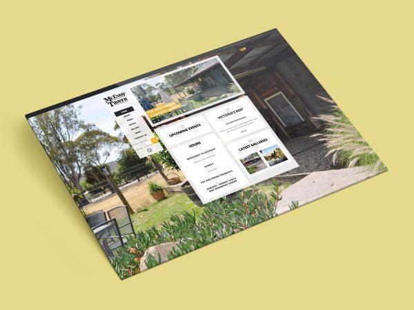 Purple Possum Design – Web Design Wangaratta – McEvoy Tavern Eldorado