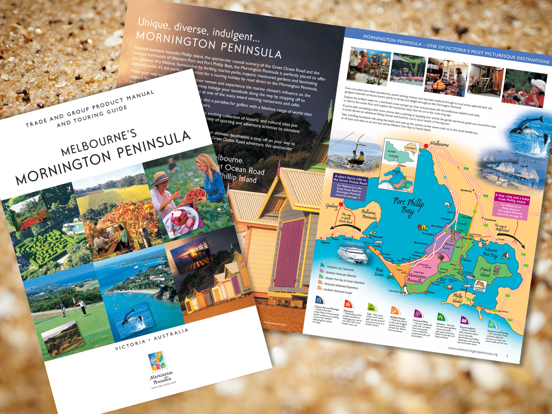 Mornington Peninsula Destination Trade Directory – Purple Possum Design – Graphic Design Wangaratta