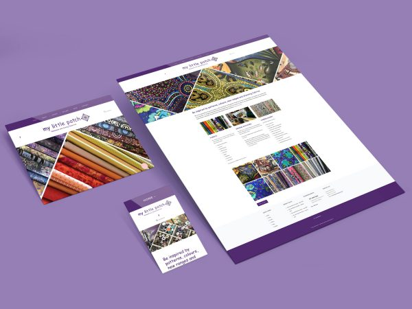 Purple Possum Design – Web Design Wangaratta – My Little Patch