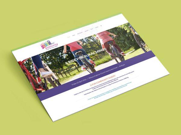 Purple Possum Design – Web Design Wangaratta – Pedal for Positivity
