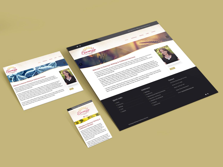 Purple Possum Design – Web Design Wangaratta – Sunwyse Writing and Celebrancy Services