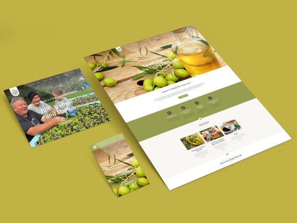 Purple Possum Design – Web Design Wangaratta – Wangandary Olives