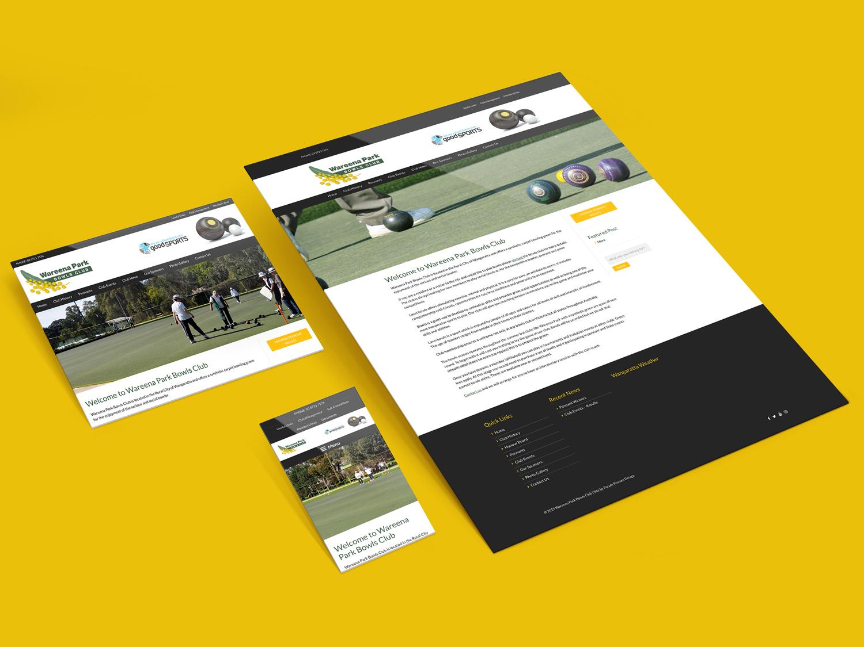 Purple Possum Design – Web Design Wangaratta – Wareena Park Bowls Club
